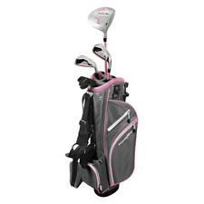 PowerBilt Pink Series Junior Golf Set Driver Iron Wedge Putter Bag 2018