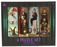 Disney Parks The Haunted Mansion Stretching Portraits Room 4 Puzzle Set New!