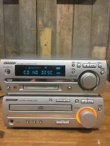 Sharp MD-MX10 MD Compact System MiniDisc / CD Player System Read Description