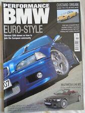Performance BMW Nov 2002 328i, E30 325i Cabrio, E46 M3