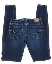 American Eagle Super Stretch Jegging Low Rise Distressed Jeans Women's 2L