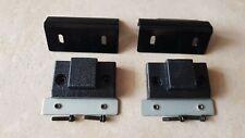 TECHNICS SL1210/1210/1200 MK2/MK3 2 X (COPPIA) STAFFE coperchio