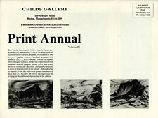 Childs Gallery Print Annual 22, PB, 1999, in mailing covers