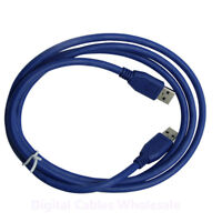 3m USB 3.0 Type A Male To A Male Data Cable Lead Extension - Super Fast Speed