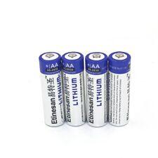 4pcs Etinesan 1.5V AA Lithium Battery 2900mAh Long lasting For Camera Game ect.