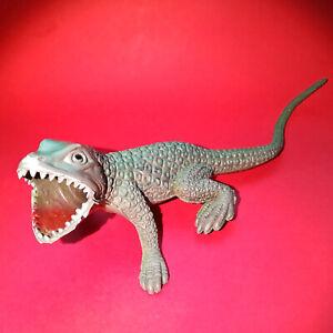 vintage 80's rubber lizard monster iguana dragon dinosaur fantasy creature