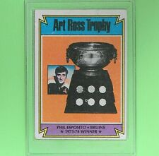 PHIL ESPOSITO  1974  ART ROSS TROPHY  #246  Topps  Boston Bruins