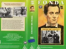YOUNG MR. LINCOLN -Henry Fonda  -VHS -PAL -NEW-Never played!-Original Oz release