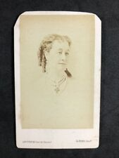 Victorian Carte De Visite CDV: Levitsky: Empress Eugenie of the French