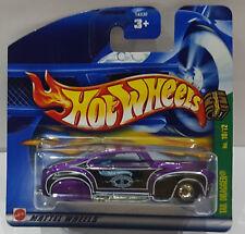 Hot Wheels 2002 TREASURE HUNT TAIL DRAGGER caoutchouc pneus 54330