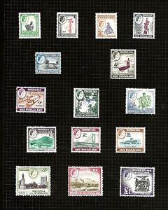 RHODESIA (D28-2)1959 VIEWS SG18-31 (1d MINT NO GUM)  £1.00 SET OF 15  FINE MNH