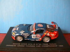 DODGE CHRYSLER VIPER GTS-R #55 TAISAN TEAM 9 JAPANESE GT CAR CHAMPIONSHIP 1998 E