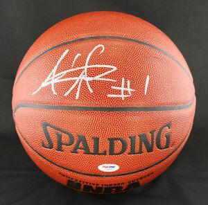 Amar'e Stoudemire SIGNED I/O Basketball New York NY Knicks PSA/DNA AUTOGRAPHED