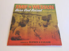 """Smif N Wessun Born And Raised/ Solid Ground  Vinyl 7"""" 45 RPM Feat. JR Kelly &NEW"""