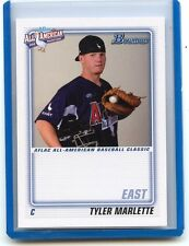 """2010 BOWMAN #AFLAC-TM TYLER MARLETTE """"AFLAC"""" ALL-AMERICAN ROOKIE CARD RC, 052614"""