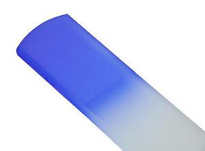 Czech Crystal Glass, Spa Bar / Slab / Foot, 6 1/2 inch Foot Files by Mont Bleu