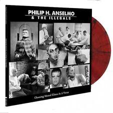 PHIL ANSELMO - CHOOSING MENTAL ILLNESS AS A VIRTUE - LP RED/BLACK VINYL NEW 2018