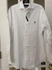 Polo Ralph Lauren White Medium Dress Shirt NWT