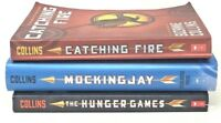 HUNGER GAMES Trilogy 3 Books Mockingjay Catching Fire set lot SHIPS FREE!