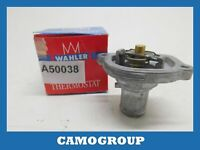 Thermostat Refrigerant Coolant Thermostat Wahler For FIAT Bravo Idea Marea