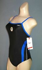 NEW NWT 26 SPEEDO RAPID SPLICE ENERGY BACK POWERFLEX SWIMSUIT Womens 8191204