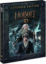 DER HOBBIT: DIE SCHLACHT DER FÜNF HEERE, Extended Edition (Blu-ray 3D) NEU+OVP