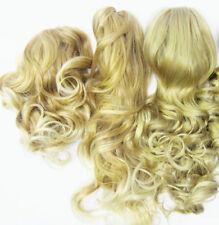 Bibis et bijoux de cheveux en synthétique pour femme