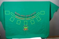 Original Paradise Island Resort & Casino Blackjack Table Layout Felt 7 Player GR