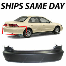 NEW Primered - Rear Bumper Cover for 1998 1999 2000 2001 2002 Honda Accord Sedan
