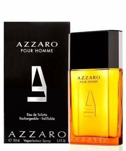 AZZARO POUR HOMME 3.4 O.Z EDT SPRAY * MEN'S PERFUME* NEW IN BOX