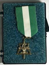 BSA Boy Scout 10KT Gold Filled Scouter's Key Training Award Ribbon Metal Pins