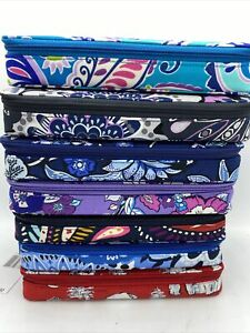Vera Bradley Large Travel Large Pill Case Mimosa Paisley Tapestry 28 Slots 7 Day