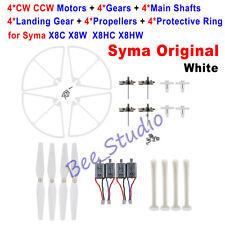 Original Syma X8C X8W Motor+Landing Gear+Propeller Blade+Protective Ring Set Kit
