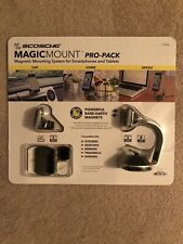 SCOSCHE MAGICMOUNT PRO PACK SMARTPHONE TABLET MAGNETIC MOUNTING SYSTEM GRAY