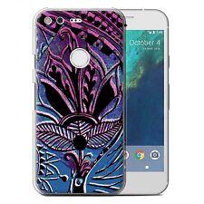 STUFF4 Phone Case for Google Nexus/Pixel Smartphone/Henna Paisley Flower/Cover