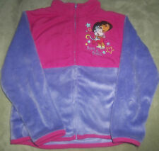 PRE-OWNED  GIRLS  NICKELODEON DORA AND BOOTS JACKET SIZE 6