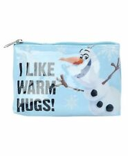 New Frozen Olaf I Like Warm Hugs Loungefly Bag Cosmetics Make Up Pencils Crayon