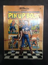 Mighty World Of Marvel Pin-Up Book Stan Lee Marvel Comics 1978 Rare