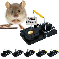 Mouse Traps Reusable Rat Snap Mice Traps Rodent Killer Snare SELECT QTY