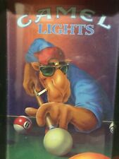 "Camel Lights~""Smokin Joe Camel""~1992 Vintage Promo Ash Tray~Playing Pool~Used"
