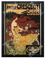 Historic Crescent Cycles, 1899 Advertising Postcard