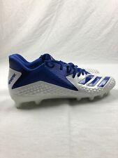 adidas Freak - White/Blue Cleats (Men's 14) - Used