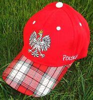 Polen Polska Poland Cap/Cape/Kappe 5 + NEUWARE + EM 2016 + 100 % Baumwolle