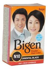 2 X Bigen Hair Colour Powder Oriental Black 6gm