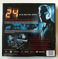 24, the DVD BOARD GAME - NEW Factory Sealed, All the energy of the TV show