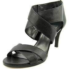 Stuart Weitzman Hugme Black Sandal 5.5 M