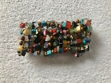 Topshop Custume jewellery: Multi-Coloured Stretch Bracelet