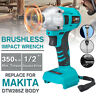 Replace For Makita DTW285Z 18V 350N Li-Ion Cordless 1/2'' Impact Wrench Driver