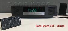 Bose Wave Music System III Radio mit Touch, DAB, in Anthrazit - Kauf vom Händler