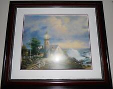 THOMAS KINKADE A LIGHT IN THE STORM  OFFSET LITHOGRAPH IN COLOR ON PREMIUM PAPER
